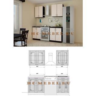 Кухня БЕЛАРУСЬ-6 модульная, правая, левая