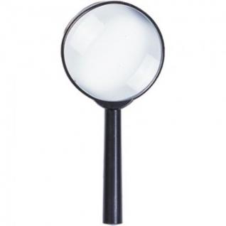 Лупа Attache, увеличение х6, диаметр 60мм, цв.черный, карт/кор.