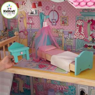 """Трехэтажный дом для кукол Барби """"Аннабель"""" (Annabelle) с мебелью 17 элементов"""