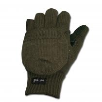 Mil-Tec Перчатки-варежки охотника, цвет оливковый