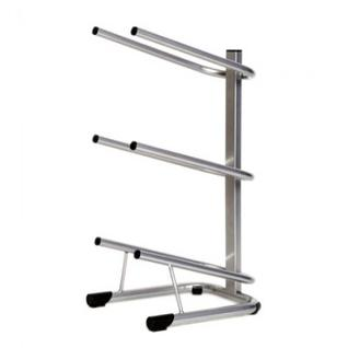 Метал.Мебель KD_Бридж-3 стеллаж для воды бутилир. на 3 тары,цв.серый
