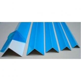 Уголок пластиковый 10 х 10 х 3000 мм, цвет белый