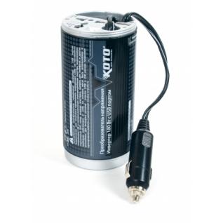 Преобразователь напряжения автомобильный KOTO 12V-503 (12В > 220В, 180Вт, USB) Koto