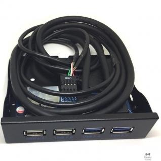 Espada Espada Планка на переднюю панель USB3.0-2 порта + USB2.0-2 порта (EFr4Usb2&3) (41918)
