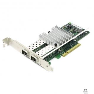 Intel Контроллер 2-портовый Ethernet 10GbE CNA dual port Intel X520-DA2 (E10G42BTDABLK), PCIe 2.0 x8, 2xSFP+, LP