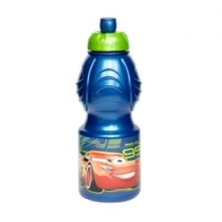 STOR Бутылка пластиковая (спортивная, фигурная, 400 мл). Тачки 3