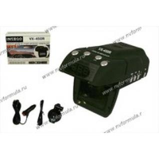 Антирадар (радар-детектор) + видеорегистратор Intego с GPS VX-450R