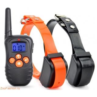 Электронный ошейник для дрессировки PET998N для двух собак (18-68см)
