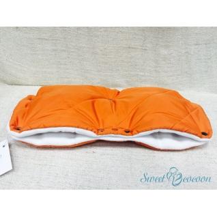 Муфта на коляску, цв. оранжевый Sweet Cocoon