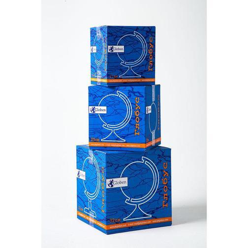 Глобус Физико-политический с подсв. рельефный,250мм, Ке022500195 37875040 1
