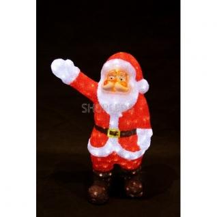 """Neon-Night Акриловая светодиодная фигура """"Санта Клаус приветствует"""" 60 см, 200 светодиодов, IP44 понижающий трансформатор в комплекте, NEON-NIGHT"""