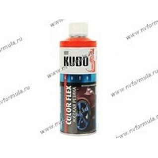 Антикоррозийное покрытие Жидкая резина KUDO KU-5504 520мл красный