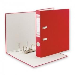 Папка-регистратор BANTEX ECONOMY, 1447-09, б/мет.уг., 50мм, красный