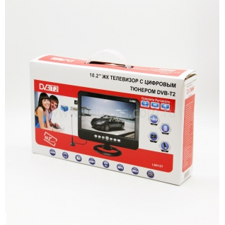 Автомобильный портативный телевизор c DVB-T2 Eplutus LS-912T Eplutus
