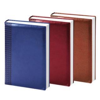 Ежедневник недат, синий, тв пер, 140х200, 160л, Lozanna AZ052/blue