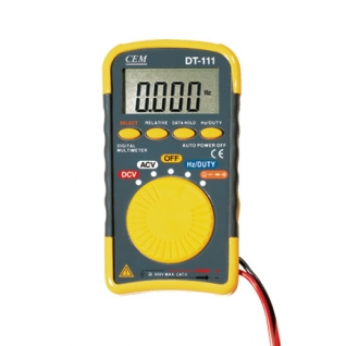 Карманный цифровой мультиметр СЕМ DT-111
