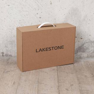 Lakestone™ Деловая сумка-папка Bolton Brown кожаная