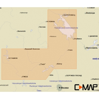 Карта C-MAP RS-N212 - Тверь – Рыбинск C-MAP