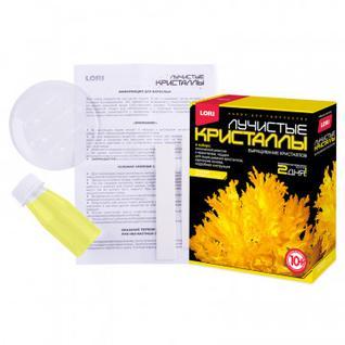 Набор для творчества Лучистые кристаллы Желтый кристалл,Лк-004