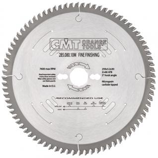 Пильный диск CMT универсальный для поперечного пиления 350x30x3,5/2,5 5° 15° ATB Z=108 285.108.14M