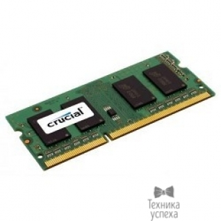 Crucial Crucial DDR3 SODIMM 4GB CT51264BF160BJ PC3-12800, 1600MHz