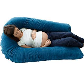 Подушка для беременных U-образная Синий мкв