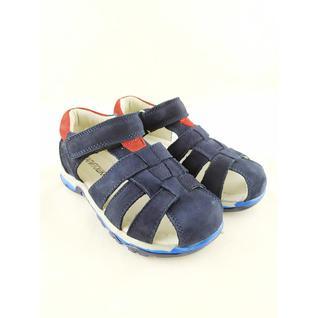 A9695 туфли открытые для мальчика синий Капитошка р.26-31 (29)