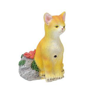 Фигурка садовая мяукающий котенок Verdemax