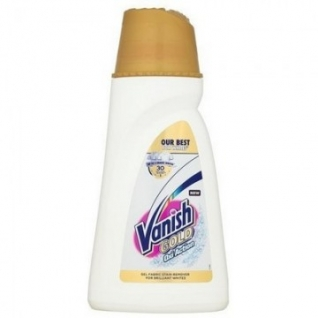 Пятновыводитель VANISH GOLD OXI Action Кристальная белизна гель 1л