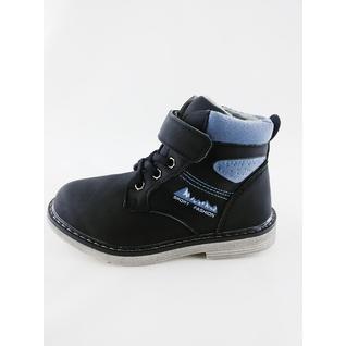 EW333 Ботинки черный демисезонные, р.27-32 (32) Звезда