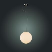 Светильник подвесной St Luce Никель/Белый E27 1*40W SL290.513.01