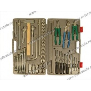 Инструмент НИЗ 42 предметов 1/2 кейс пластик Автомобилист-1
