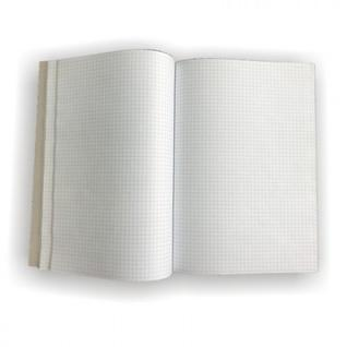 Бух книги учёта 96л в клетку обл. однот.цв.картон