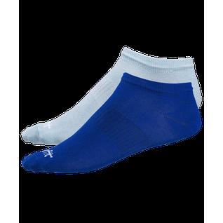 Носки низкие Starfit Sw-205, ультрамарин/небесно-голубой, 2 пары размер 43-46