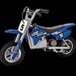 Электромотоцикл Razor MX350 (синий)