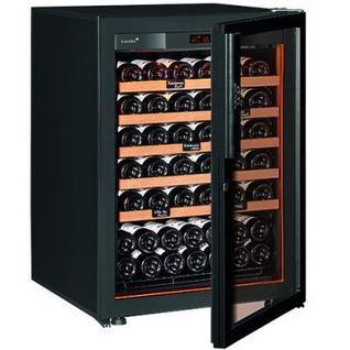Винный шкаф EuroCave S-Revel-S (5 полок, дверь Full Glass, цвет черный)