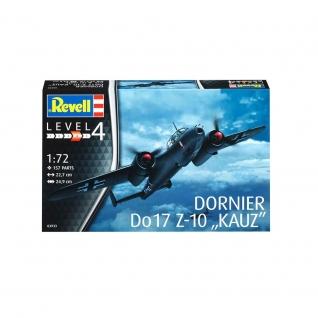 """Сборная модель самолета """"Бомбардировщик Dornier Do 17Z-10 Kauz"""", 1:72 Revell"""