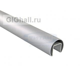 T-104А AL Поручень для лестничных ограждений (анод. алюминий). D42,4mm