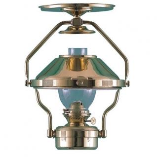DHR Лампа каютная керосиновая из полированной латуни DHR 8208/O на стенку или потолок