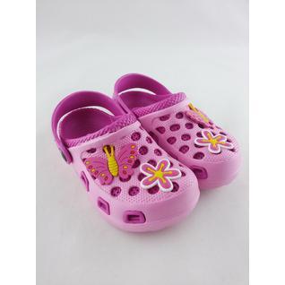 6514 кроксы розовые для девочки .мифер 24-29 (29) Мифёр