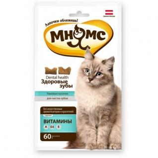 Мнямс Мнямс дентал лакомство для кошек 60 г