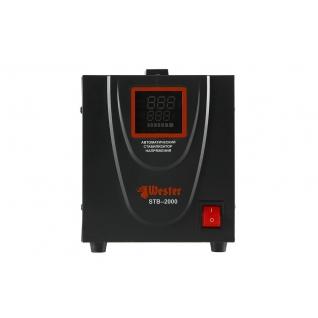 Стабилизатор напряжения WESTER STB-2000 однофазный, цифровой 220В 2000ВА