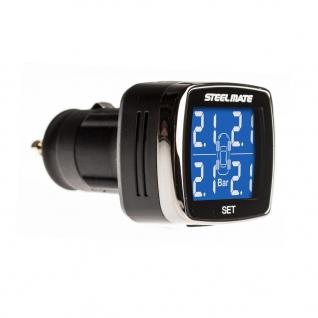 Система контроля давления и температуры в шинах Parkmaster SteelMate TP-77I (в прикуриватель)