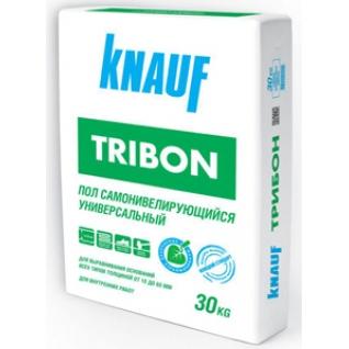 КНАУФ Трибон самовыравнивающийся наливной пол (30кг) / KNAUF Tribon пол самовыравнивающийся универсальный (30кг) Кнауф