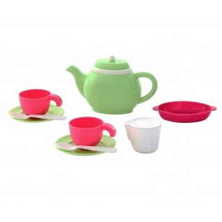 Набор детской посуды на 2 персоны (10 элементов) (в сеточке) Полесье