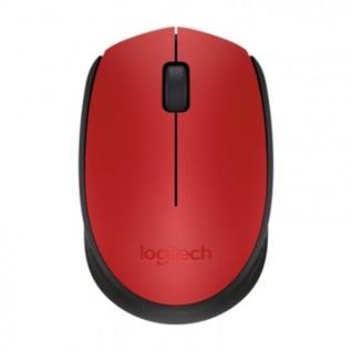 Мышь компьютерная Logitech (910-004641) Wireless Mouse M171, Red