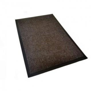 Ковер входной влаговпитывающий КОМФОРТ 900х1500мм коричневый
