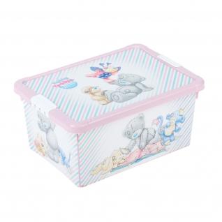 Ящик для игрушек Me To You, розовый Бытпласт