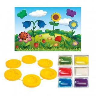 Набор для творчества тесто для лепки Цветы, 26С 1626-08