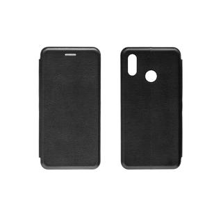 Чехол книжка Onext для телефона Huawei P20 LITE черный (экокожа)